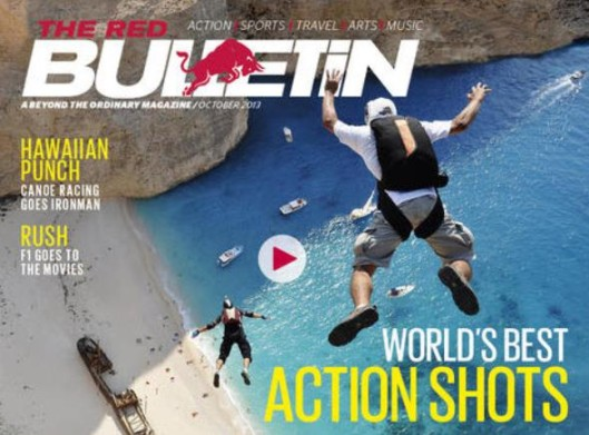 Red Bull Marketing - The Red Bulletin - Print Magazine